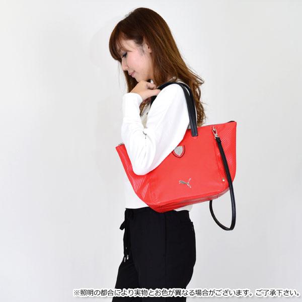 彪马 (PUMA) 法拉利 (法拉利) 合作 !法拉利 LS 手袋女装袋手提包肩包品牌馈赠的礼品