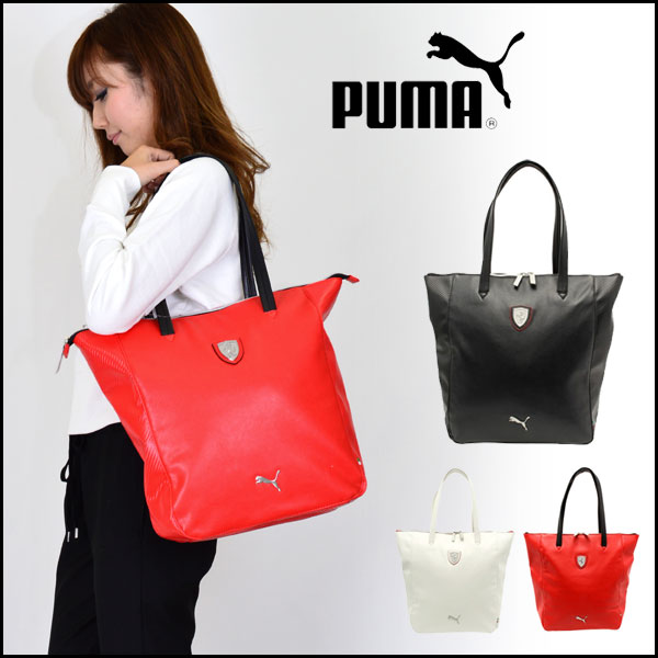 Puma Ferrari Handbag Red