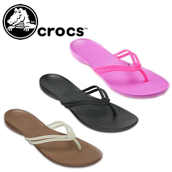 706fbccc027 DOUBLEHEART  Clocks crocs Women s Crocs Isabella Flip Lady s sandals ...