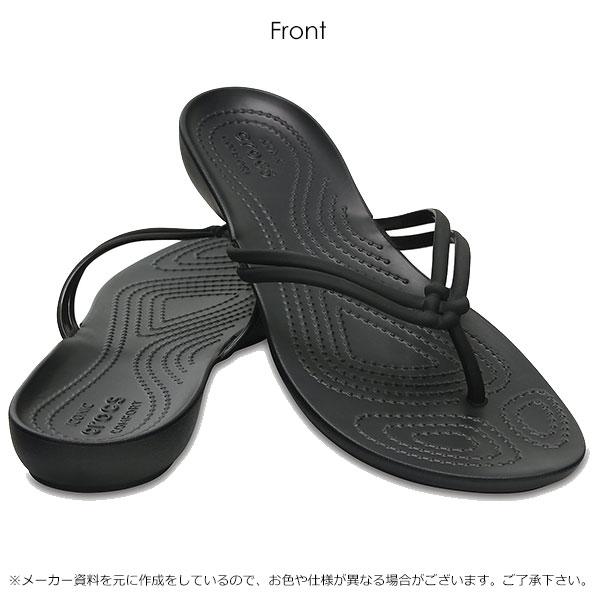3c805ef8e15e26 Clocks crocs Women s Crocs Isabella Flip Lady s sandals walk breathe  shoes  shoes flat ぺたんこ flat sandals sea beach sandal 204004