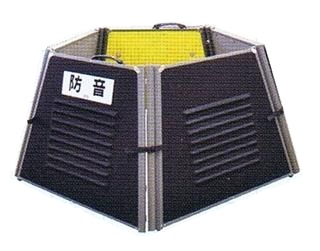 ミノリ・サイレンサー5角形タイプ、発電機の騒音を手軽にシャットアウト【メーカー直送、送料無料】