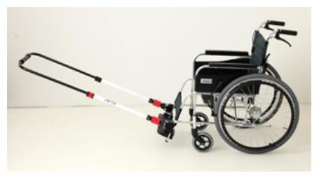 【お取り寄せ】【車椅子利用者の防災対策に。レジャーにも。】JINRIKI QUICK (ジンリキ・クイック【送料無料】