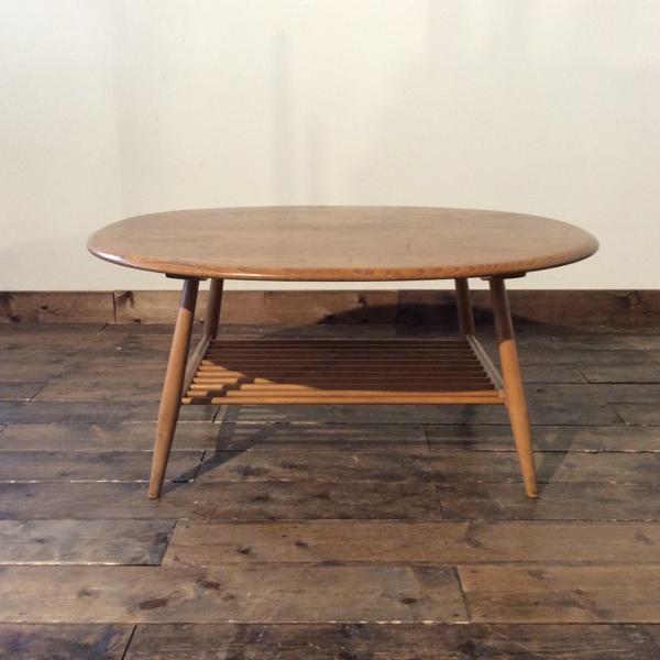 アーコール コーヒーテーブル Ercol Coffee Table(2804-008)【ダブルデイ/DOUBLEDAY/アンティーク/ビンテージ/家具/雑貨】