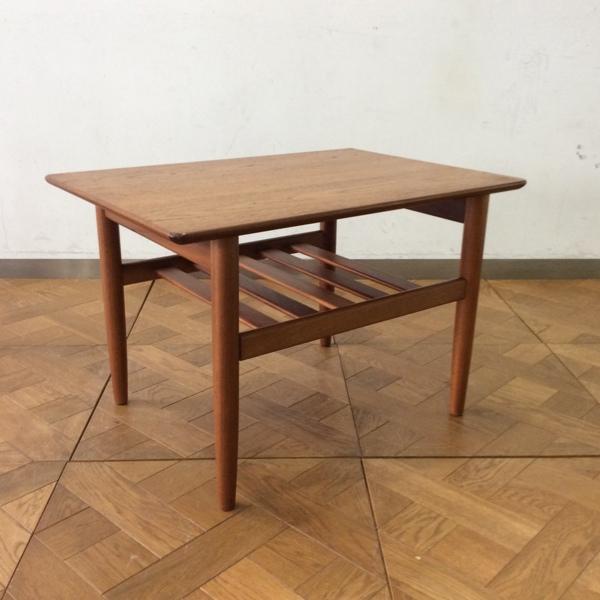 G-Plan Side Table(2601-046)ジープラン サイドテーブル (サイドテーブル/コーヒーテーブル/)【ダブルデイ/アンティーク/家具】