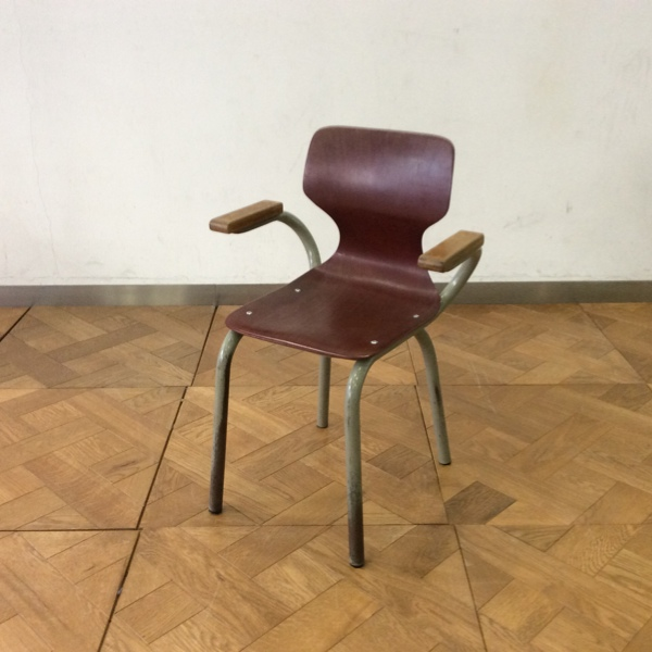 【価格見直し】ヴィンテージ チャイルドチェア(2606-B47-B) Vintage Child Chair (アンティーク/チェア/ビンテージ/学習机)【ダブルデイ/アンティーク/家具】