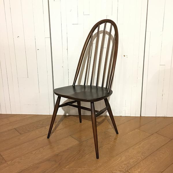 【8/31まで送料無料!】アーコール クエーカー コロニアル チェアErcol Quaker Colonial Chair(2911-049)【ダブルデイ/DOUBLEDAY/アンティーク/ビンテージ/家具/雑貨】