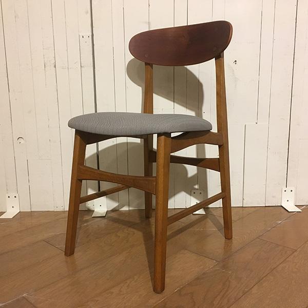 デンマーク製 ダニッシュ チーク ダイニング チェアDanish Teak Dining Chair (3105-041)【ダブルデイ/DOUBLEDAY/アンティーク/ビンテージ/家具/雑貨】