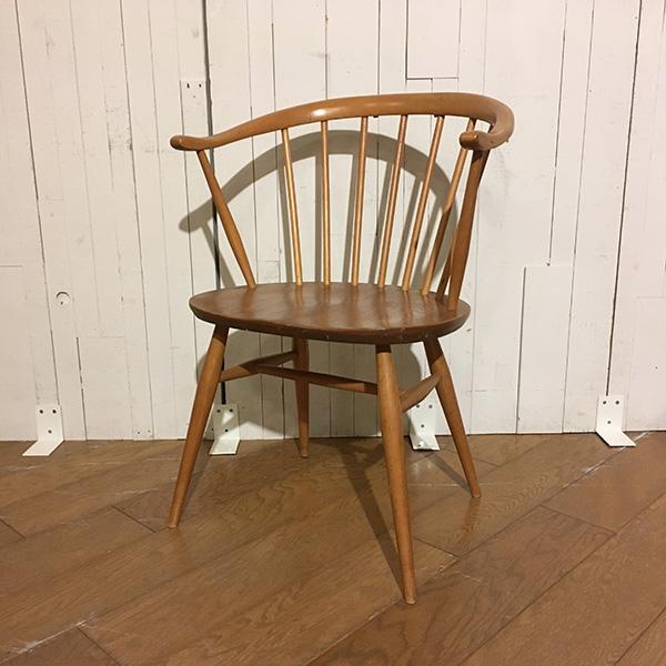 Ercol FireSide Chair(Smoker Chair)(3109-014) アーコール ファイヤサイド チェア(ファイヤーサイド/スモーカーチェア/アームチェア/ダイニングチェア/ミッドセンチュリー/ビンテージ)【ダブルデイ/アンティーク】NEW
