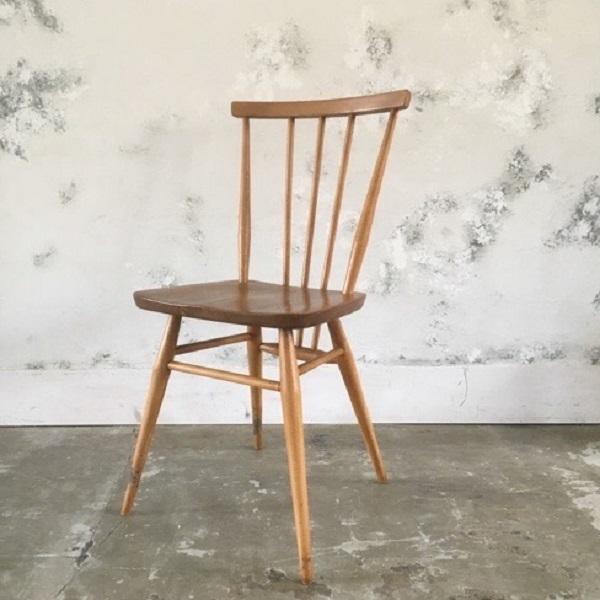アーコール スティックバック チェアErcol Stick Back Chair(2602-025-ES2)【ダブルデイ/DOUBLEDAY/アンティーク/ビンテージ/家具/雑貨】