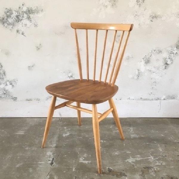 Ercol BowBack Chair(2911-048) アーコール ボウバック チェア(アーコール/ダイニングチェア/カフェチェア/サイドチェア/ミッドセンチュリー/ビンテージ)【ダブルデイ/アンティーク】