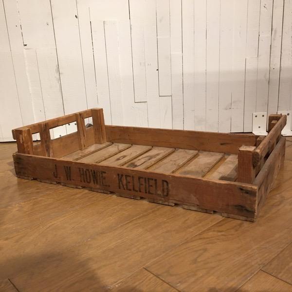 【ダブルデイ/アンティーク/家具】Vintage Wooden Box(2602-067-C)ビンテージ ウッドボックス(ビンテージ/ボックス/ジャンク/BOX/ガーデン/GARDEN/収納)