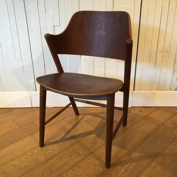 デンマーク製 チーク アーム チェアDanish Teak Arm Chair (0204-051)【ダブルデイ/DOUBLEDAY/アンティーク/ビンテージ/家具/雑貨】