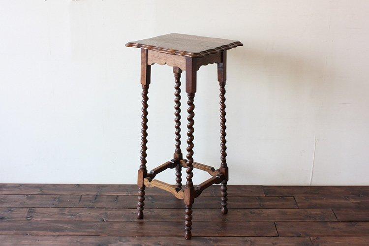 英国製 オケージョナル テーブル Occasional Table / Square(2403-A31)【ダブルデイ/DOUBLEDAY/アンティーク/家具/雑貨】