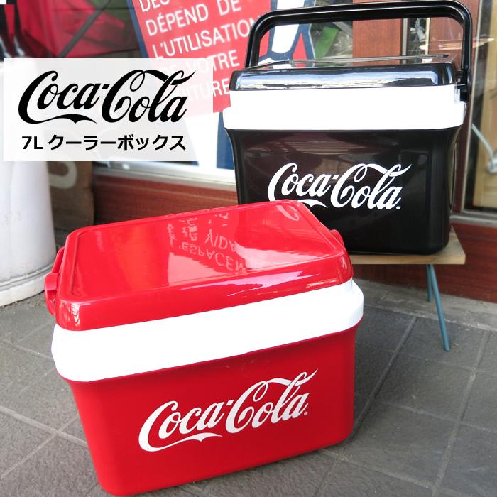 クーラボックス コカコーラ 新作 人気 Coca-Cola レッド ブラック 7L 持ち運び クーラーボックス 保存用 ダブルスリー コーラグッズ 保管用 インスタ映え プレゼント 新作 人気 アウトドア スポーツ観戦 コレクション