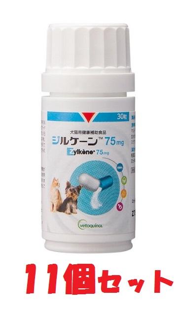 【あす楽】【ジルケーン 75mg ×11個セット】【30粒】Zylkene 犬猫