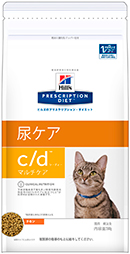 猫c/d マルチケア 4kg