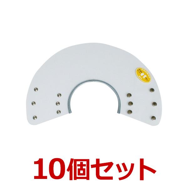 猫【アニマルネッカー 金属ホックタイプ】【クリアー透明・Catサイズ×10個】