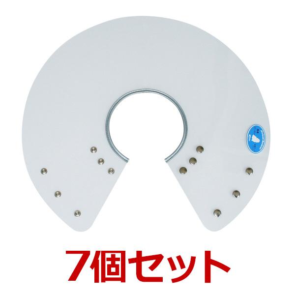 犬【アニマルネッカー 金属ホックタイプ】【クリアー透明・Mサイズ×7個】