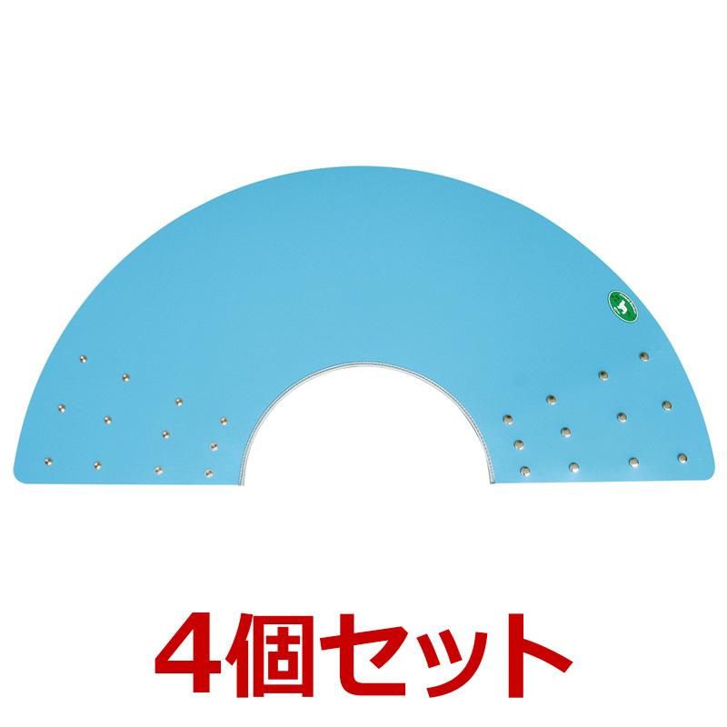 犬【アニマルネッカー 金属ホックタイプ】【ブルー・5Lサイズ×4個】
