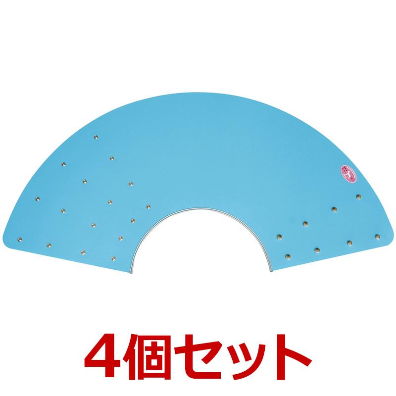 犬【アニマルネッカー 金属ホックタイプ】【ブルー・SN5サイズ×4個