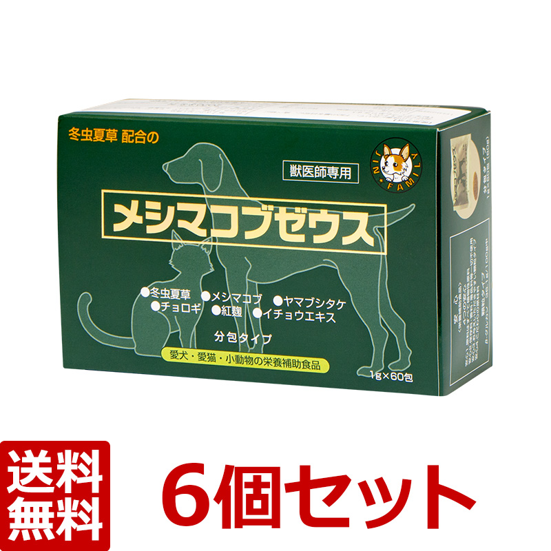 【メシマコブゼウス(顆粒)【×6個セット!】】1g×60包