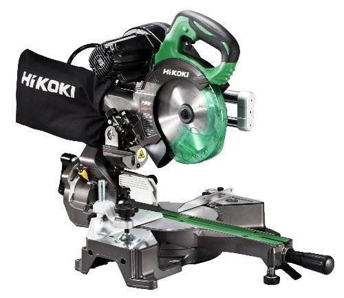 Hikoki 165mm卓上スライド丸のこ C6RSHD レーザーマーカ 単相100V