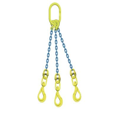 マーテック 3本吊りセット 全長1.5m 使用荷重20.7t TL3-BKL16