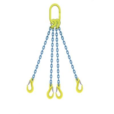 マーテック 4本吊りセット 全長1.5m 使用荷重20.7t TL4-EGKNA16