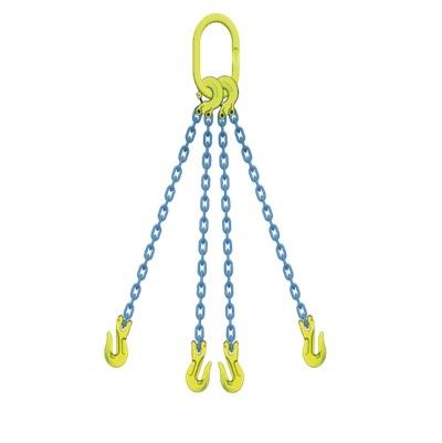 マーテック 4本吊りセット 全長1.5m 使用荷重6.6t TL4-GGA10