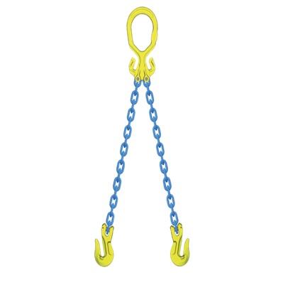 ファッションデザイナー マーテック チョーク吊用チェーンスリング マーテック 使用荷重4.4t 2本吊りセット 2本吊りセット 使用荷重4.4t MG2-GGA10, 快眠110番:f34f38fc --- milklab.com