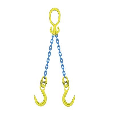 マーテック チェーンスリング 使用荷重9.0t 2本吊りセット MG2-OKE13
