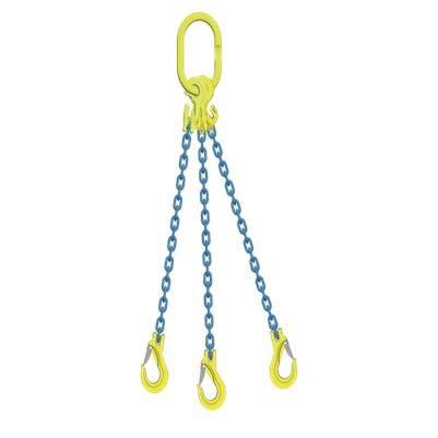 マーテック チェーンスリング 使用荷重5.1ton 3本吊りセット TG3-EGKNA8