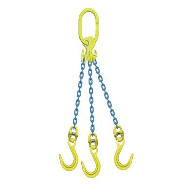 マーテック チェーンスリング 使用荷重20.7ton 3本吊りセット TG3-OKE16