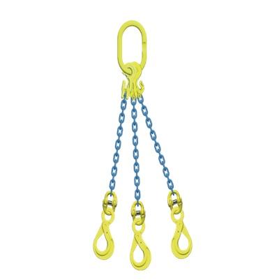マーテック チェーンスリング 使用荷重5.1ton 3本吊りセット TG3-BK8