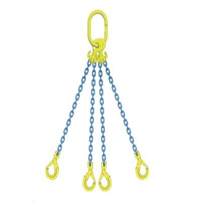 マーテック チェーンスリング 使用荷重5.1ton 4本吊りセット TG4-GBK8