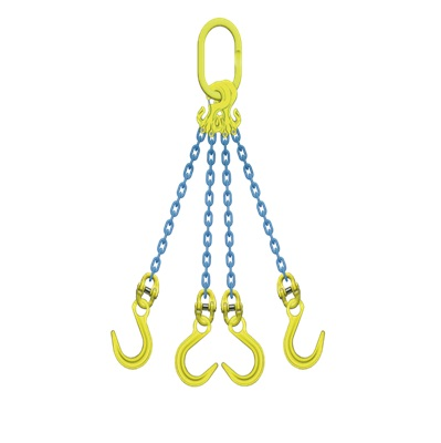 マーテック チェーンスリング 使用荷重20.7ton 4本吊りセット TG4-OKE16