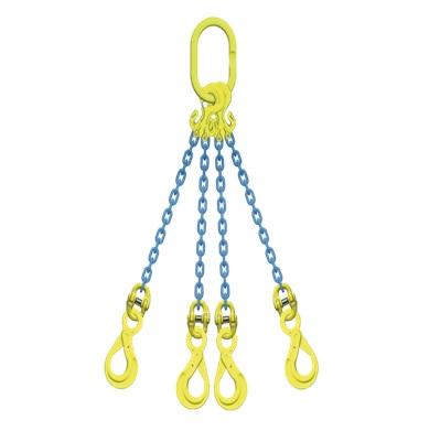 マーテック チェーンスリング 使用荷重13.5ton 4本吊りセット TG4-BK13