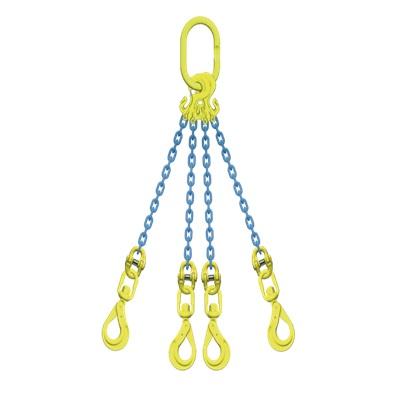 マーテック チェーンスリング 使用荷重5.1ton 4本吊りセット TG4-BKL8