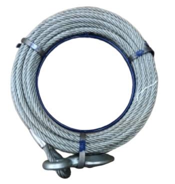 HONKO スーパーチル S-15用ワイヤロープ 10M