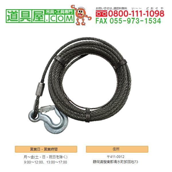 チル 専用ワイヤロープ T-7用20m