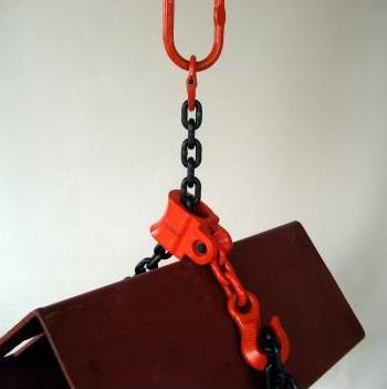 タコマン AB型チェーンスリング2本吊り 使用荷重5.0t