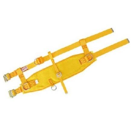 ツヨロン 傾斜面作業用安全帯ベルト黄色 幅広軽量
