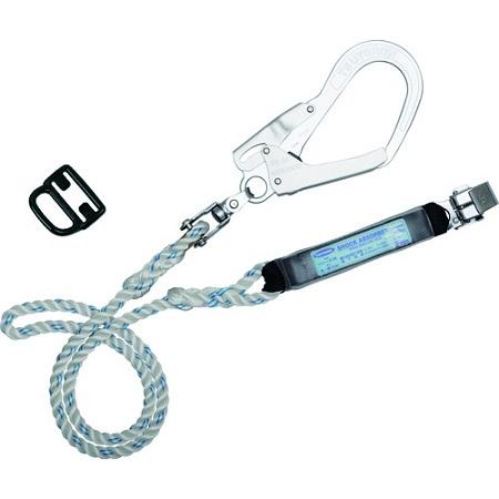 ツヨロン ハーネス用ランヤード ロープ式