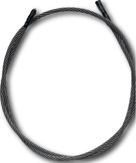 ワイヤロープIWRC6×Fi29O/O クロ C種 径11.2mm 長さ200m