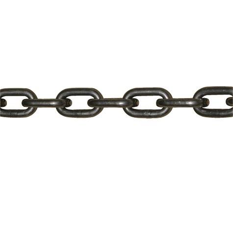 長鎖環チェーン クロ 径13mm 定尺30m