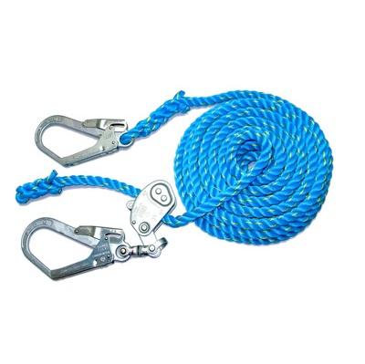 青色親網ロープ 緊張器付き 径16mm 長さ20m