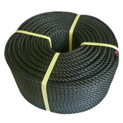 ポリエチレンロープ 黒色 径12mm 長さ200メートル巻き