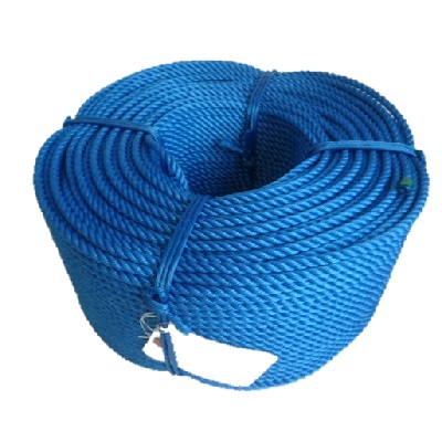 ポリエチレンロープ 青色 径9mm 長さ200メートル巻き