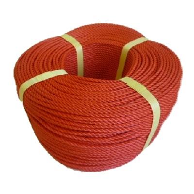 ポリエチレンロープ 赤色 径16mm 長さ200メートル巻き