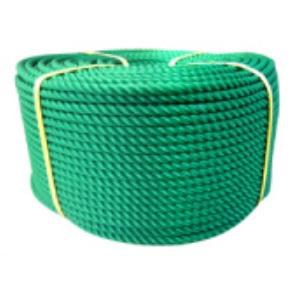ポリエチレンロープ 緑色 径20mm 長さ200メートル巻き